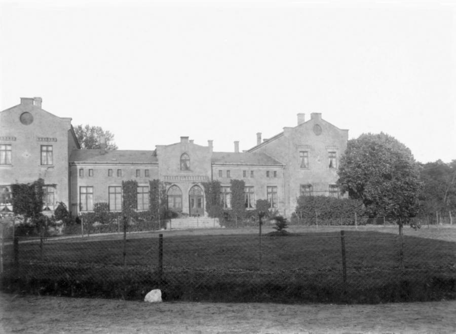 Gutshaus Schwarzenhof um 1900