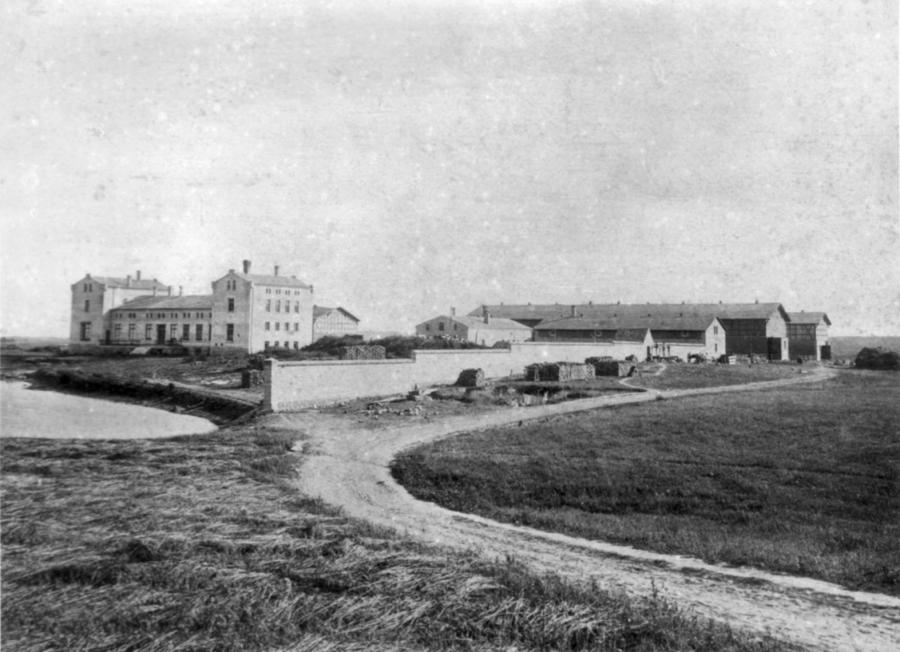 Gutshaus Schwarzenhof um 1860