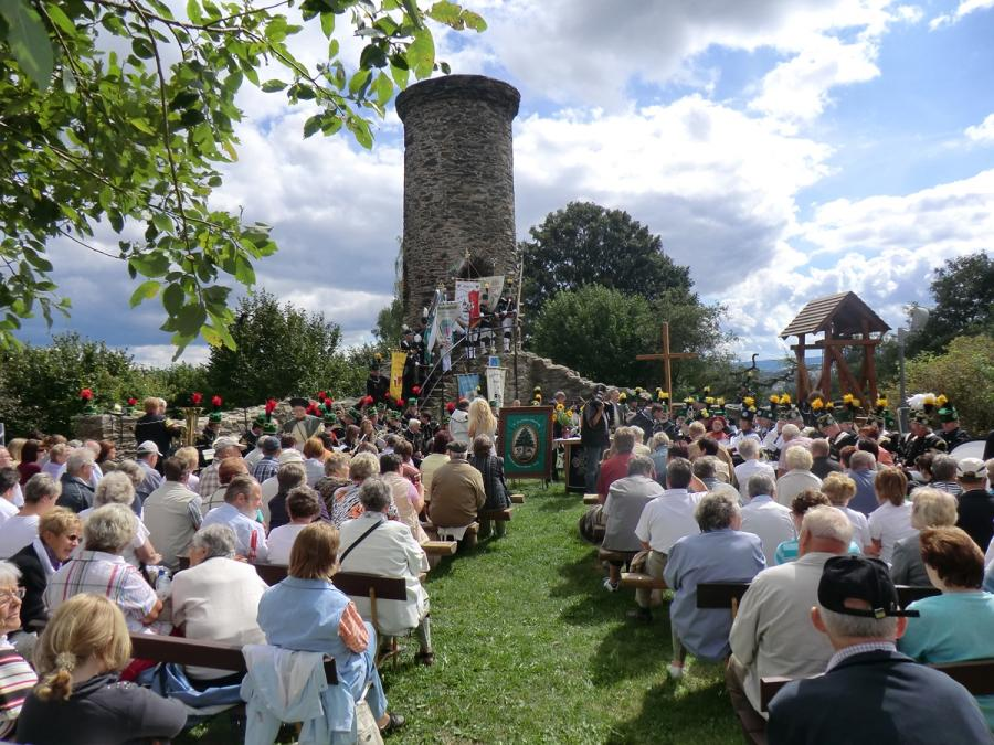 Berggottesdienst Schreckenberg