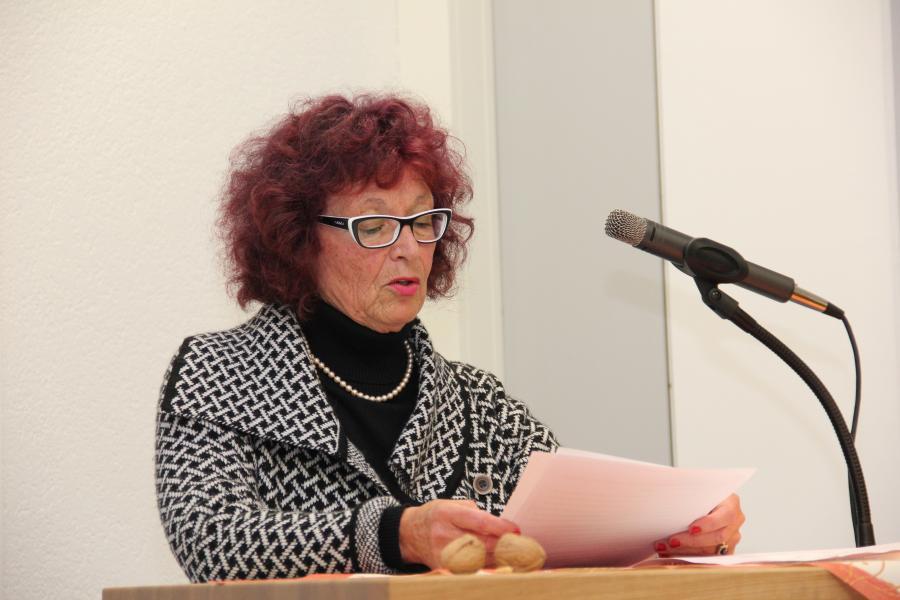 Schriftführerin Roswitha Stumpp