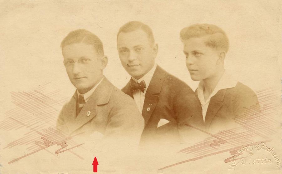 Schüler Walter Richter 1921, ©Stephan Becker, Brüssow