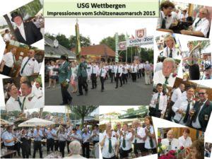 Impressionen vom Schützenausmarsch 2015