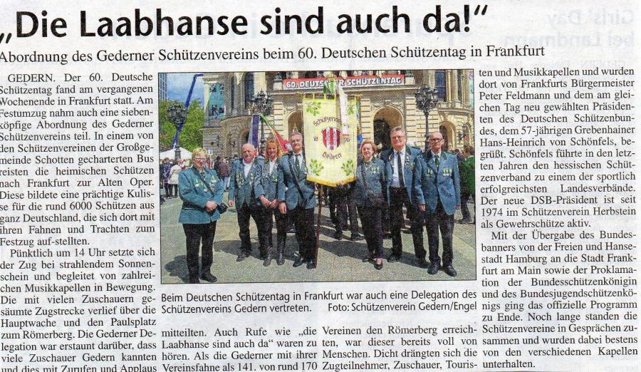 60. Deutscher Schützentag