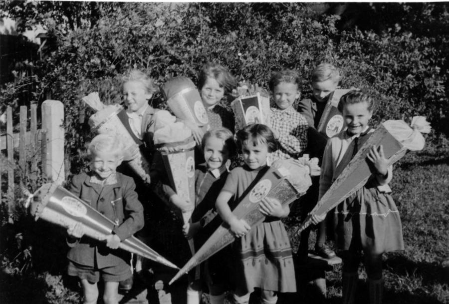 Schulanfang 1957