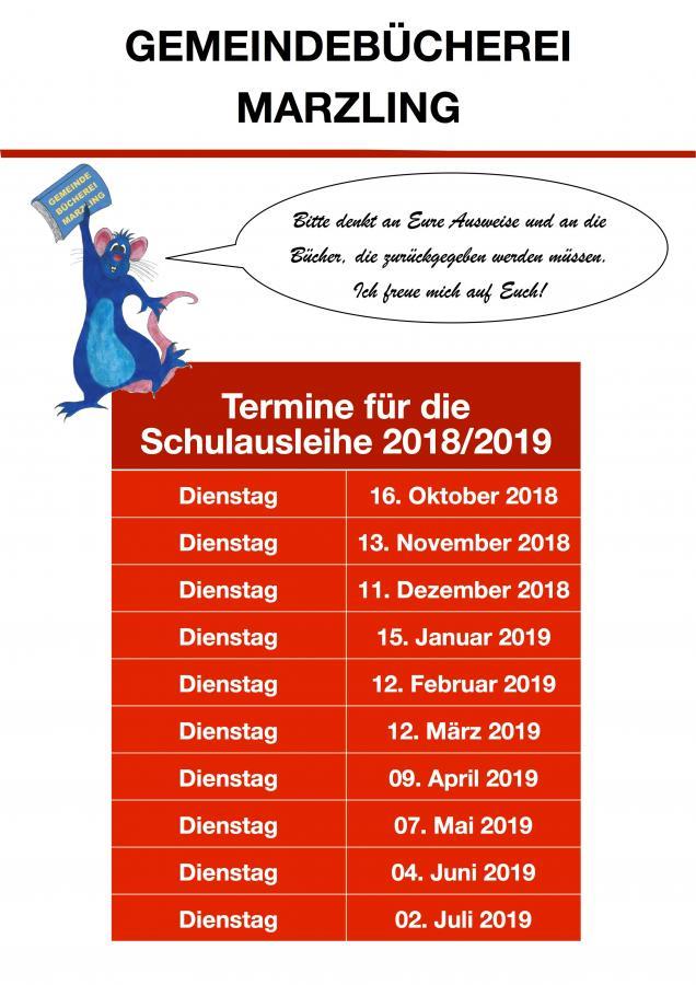 Schulausleihe 2018und19