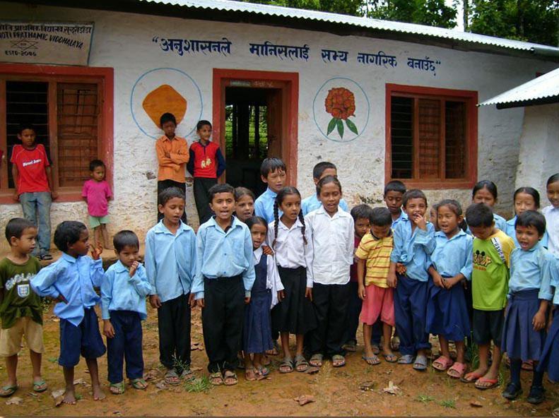 Schule in Nepal