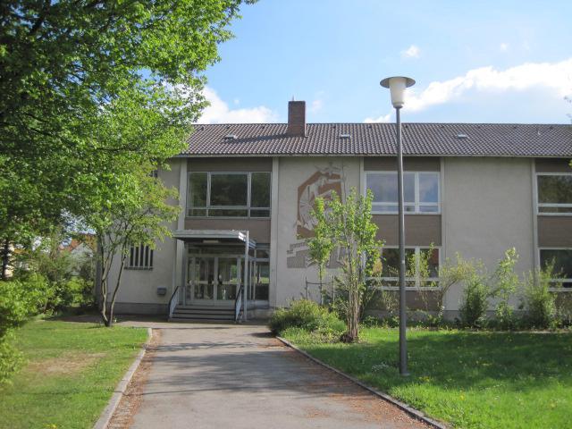 Bürgermeisterbüro in der ehemaligen Grundschule Thanstein
