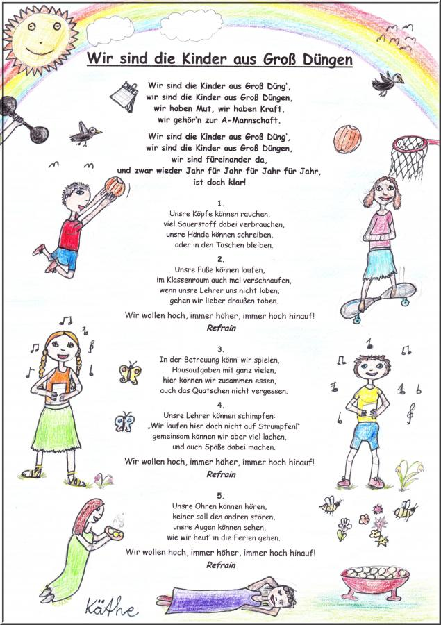 Unsere Schulhymne