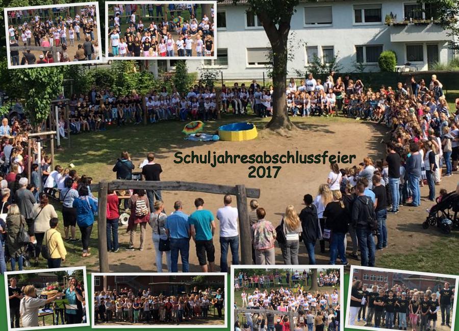 Schuljahresabschlussfeier