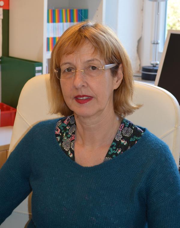 Schulleiterin Astrid Gebert