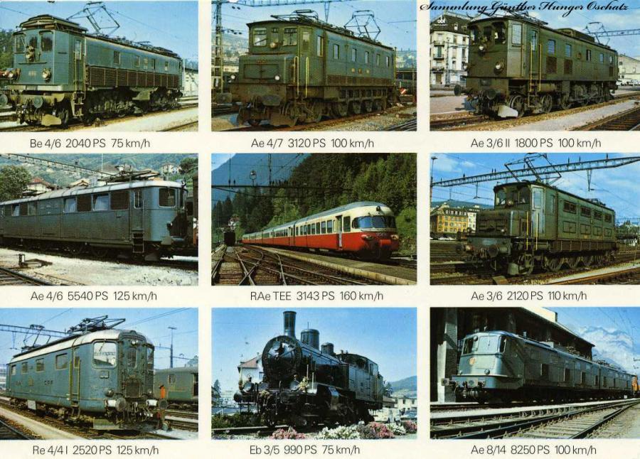 Schweizer Lokomotiven