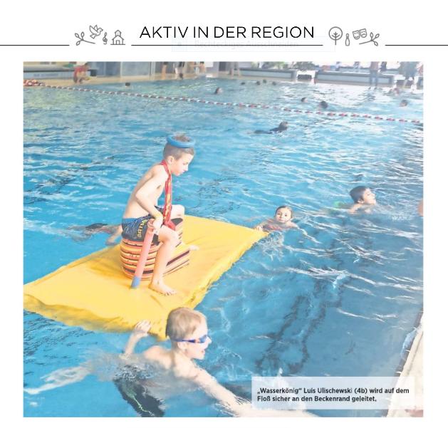 Schwimmaktionstag 2018 - Bild - HAZ 27.03.2018