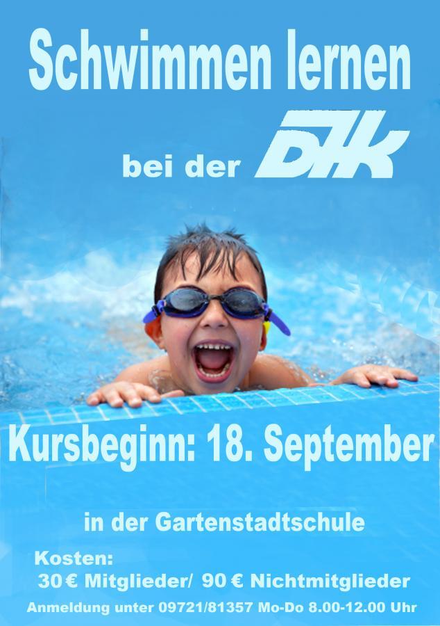 Schwimmen lernen im September