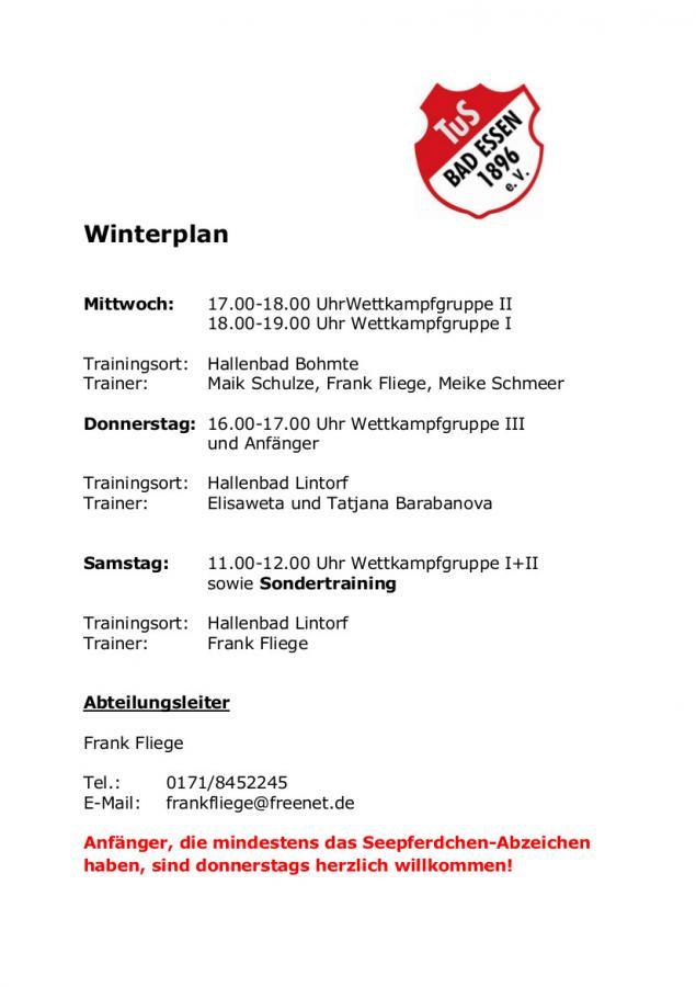 Winterplan