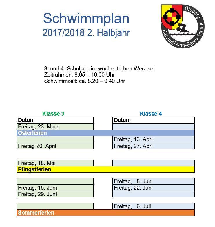 Schwimmplan h2 1718