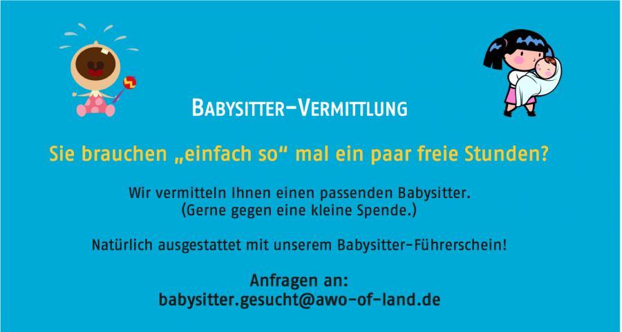 babysitter vermittlung