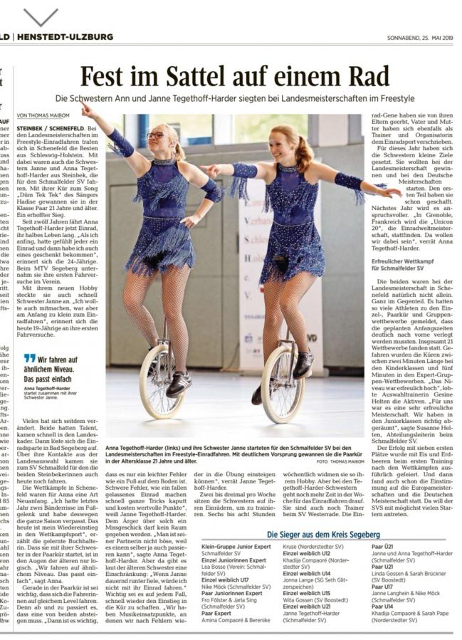 Zeitungsartikel_SegebergerZeitung_25-05-19