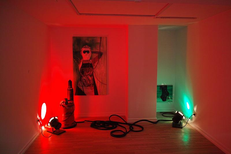 Installation von Anika Raithel