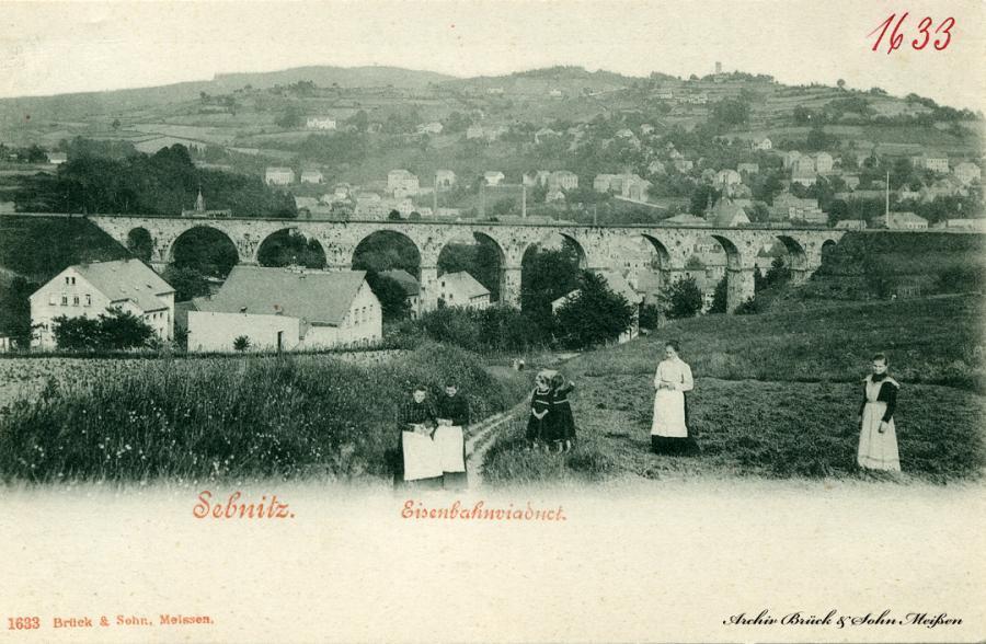 Sebnitz  Eisenbahnviaduct