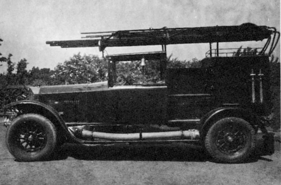 Kraftfahrspritze (KS), Benz & Cie., 1939