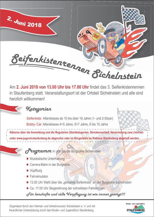 Seifenkistenrennen Plakat 2018