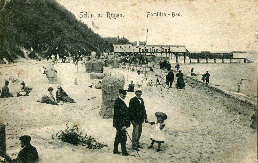 Sellin a. Rügen Familien-Bad 1909