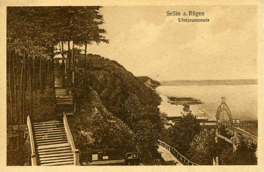 Sellin a.Rügen Uferpromenade