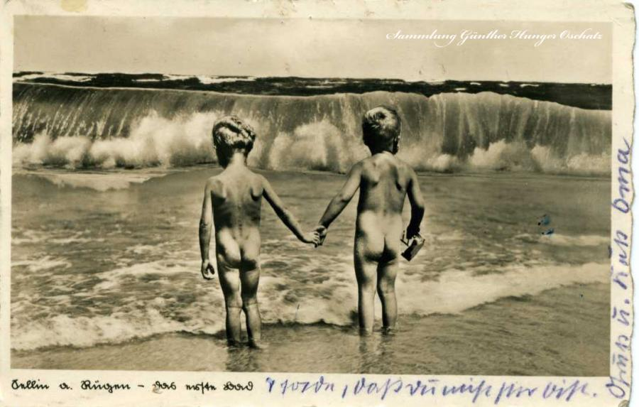 Sellin a. Rügen Das erste Bad