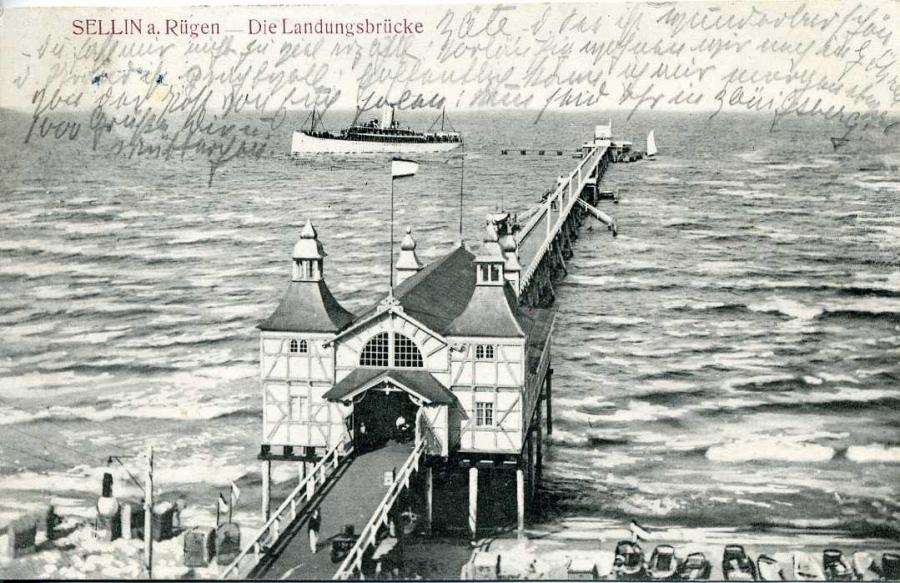 Sellin a. Rügen  Die Landungsbrücke