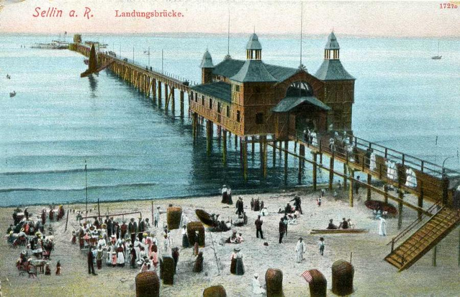 Sellin Landungsbrücke 1913