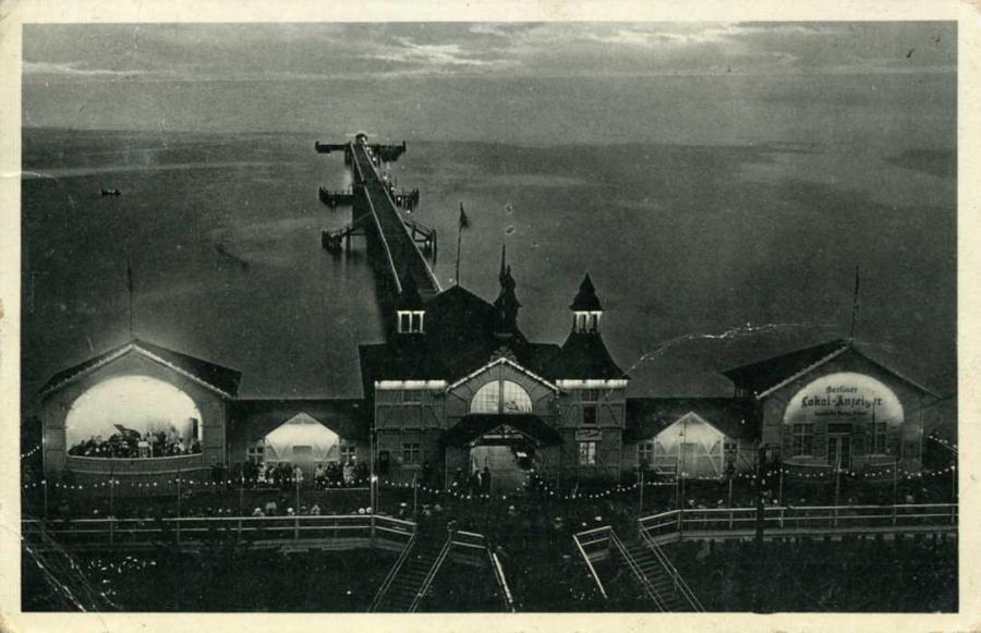 Sellin Landungsbrücke 1936