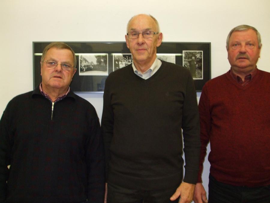 Neue Beisitzer im Seniorenbeirat - v.l. Erhard Schenk, Günther Paulat, Robert Geiling