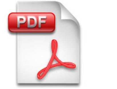 PDF-Daitei Icon für Dowanload