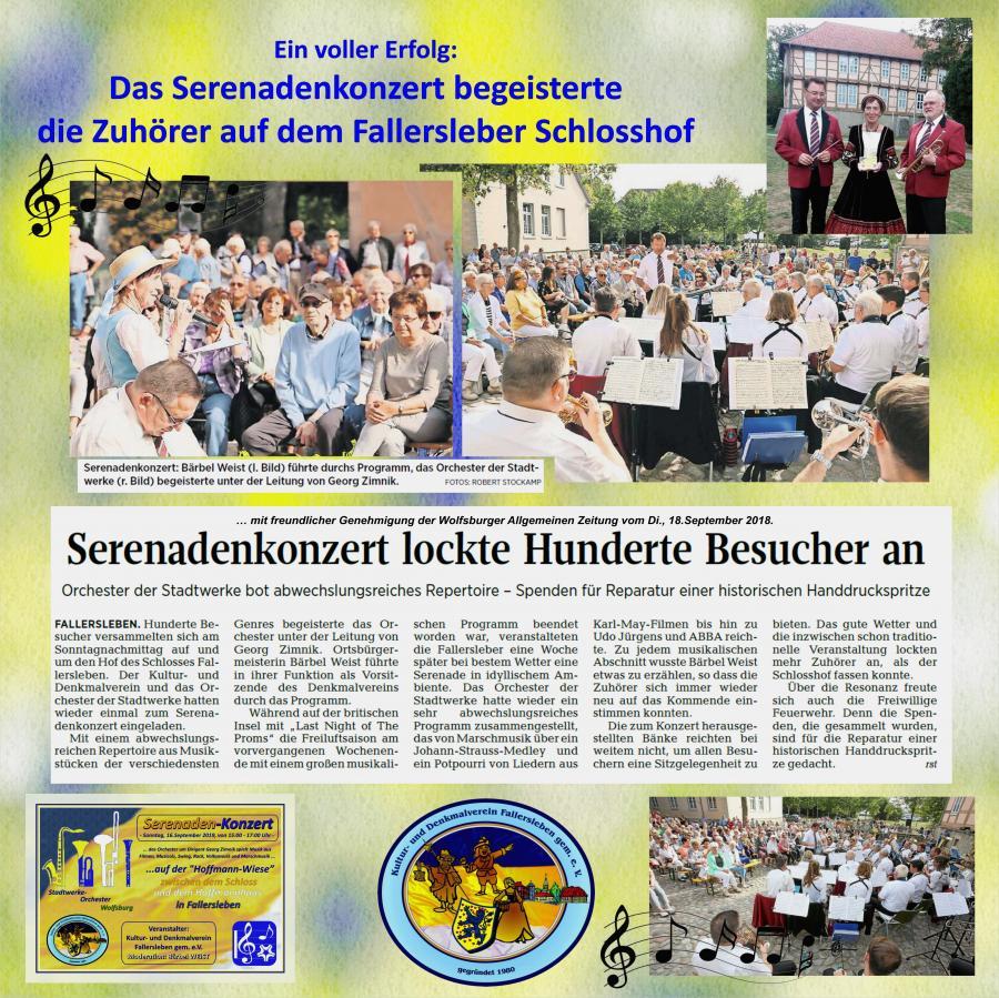 Serenadenkonzert Fallersleben