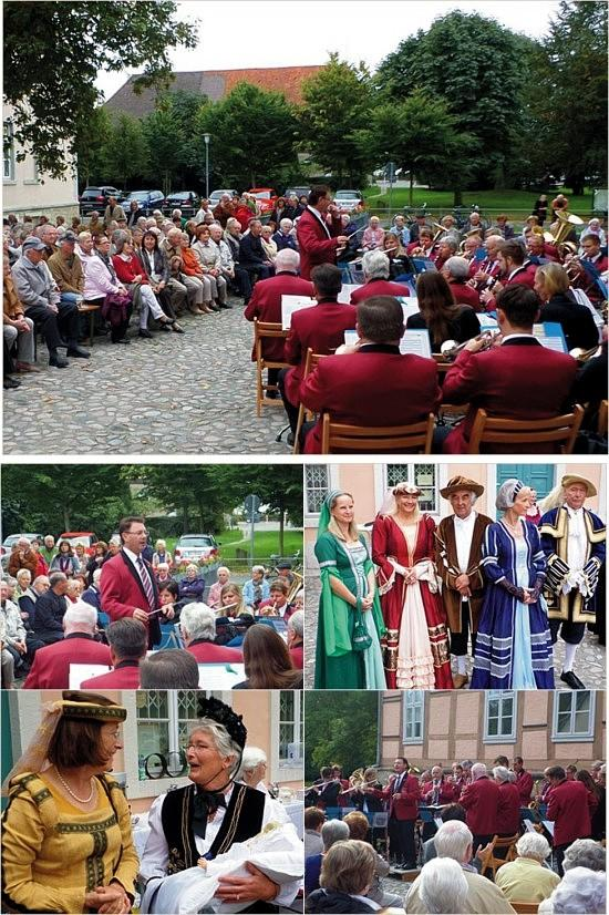 Serenadenkonzert im Fallersleber Schlosshof 2013