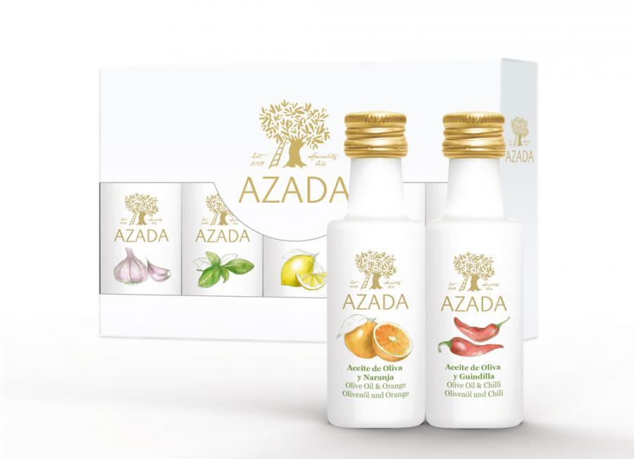 Öl Set von Azada