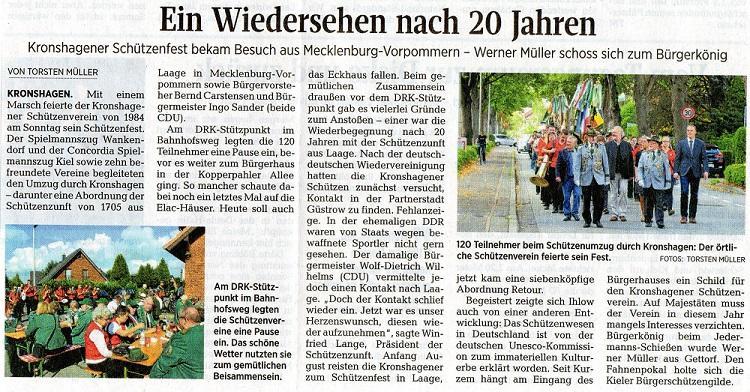 Schützenfest in Kronshagen