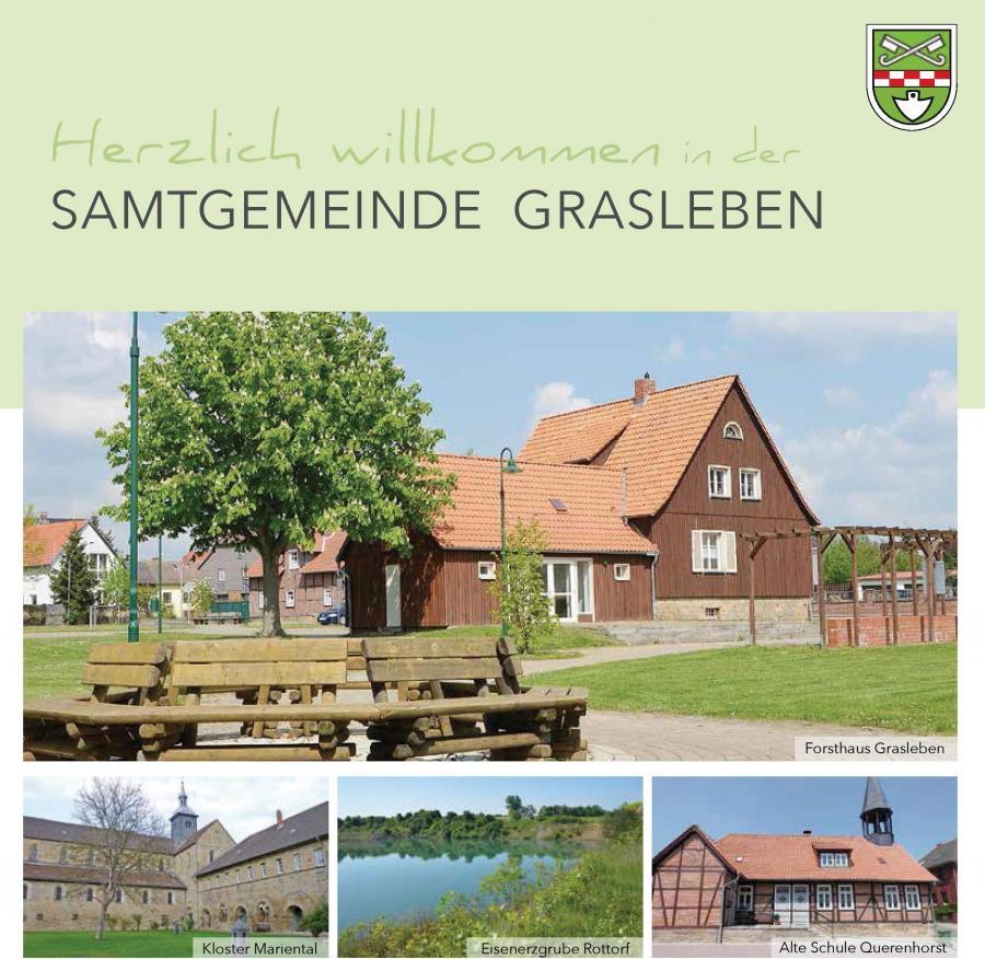 Willkommensbroschüre der Samtgemeinde Grasleben (2017), Titelseite