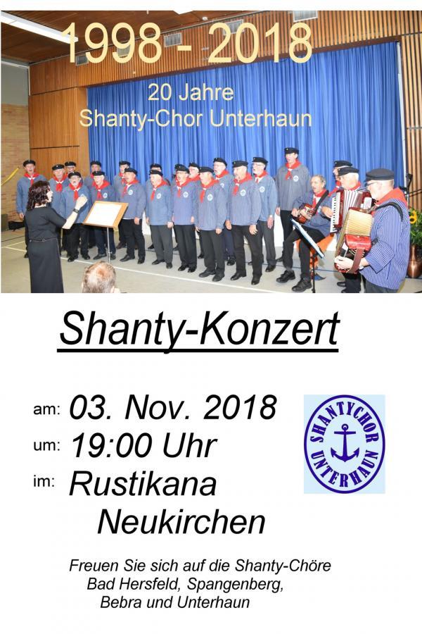 20 Jahre Shanty Chor Unterhaun