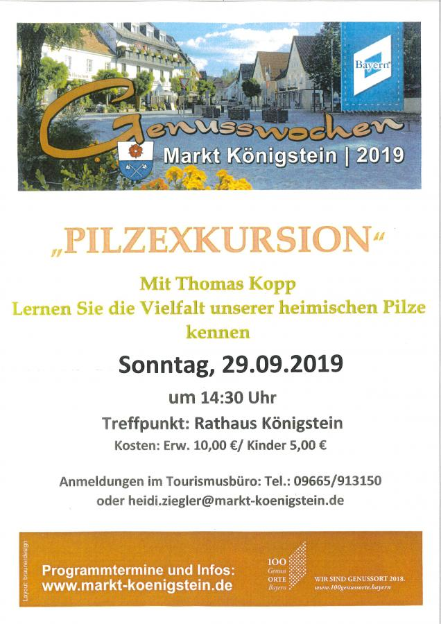 Pilzexkursion mit Thomas Kopp