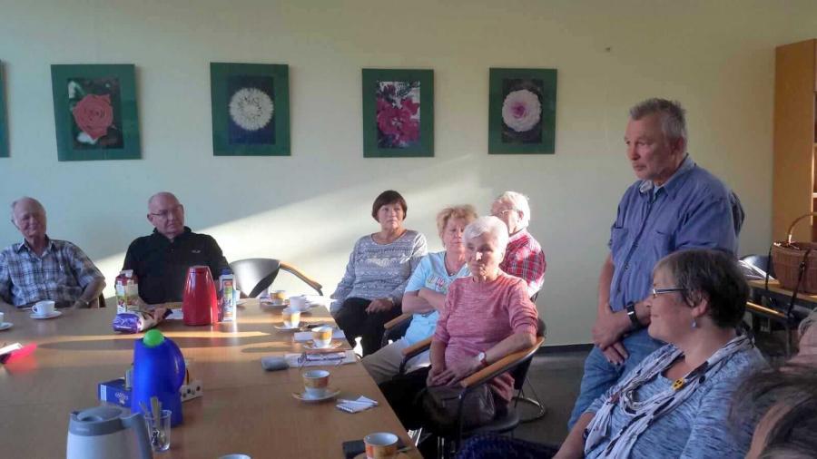 Gruppentreffen mit Thomas Braun