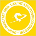 Digitales Zertifikat für Institute mit DGSP-Qualitätssiegel Laktat-Leistungsdiagnostik