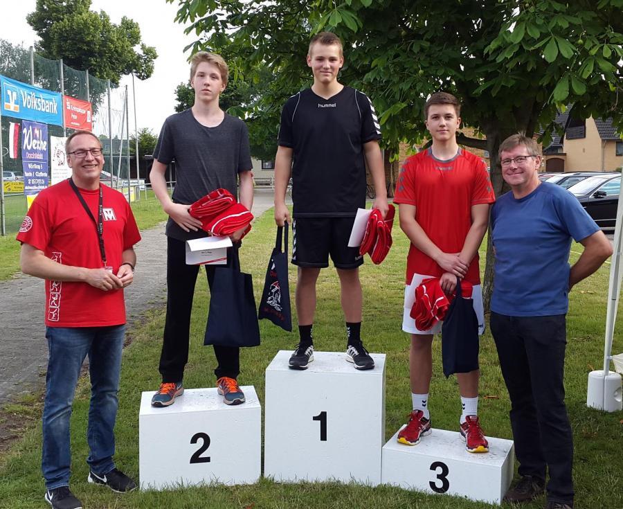 Siegerfoto 5.000m U18 männlich