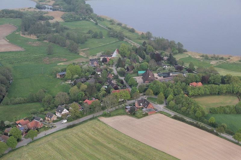 Blick auf den Ortsteil Sieversdorf; Quelle: Dirk Maaß