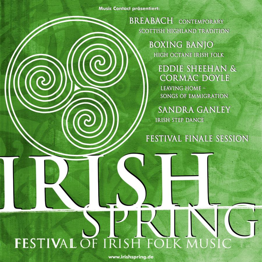 Logo Irish Spring