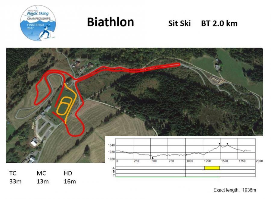 Sit Ski 2,0km