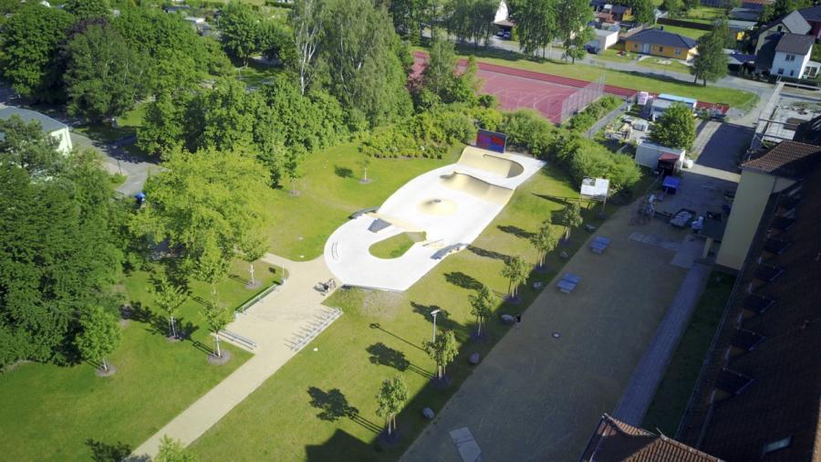 Skatepark Luftbild