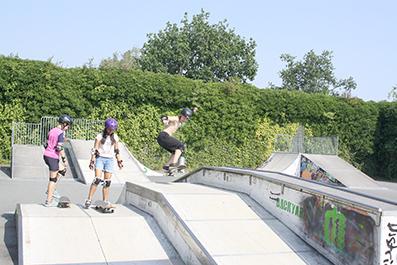 Skateboard-Kurs