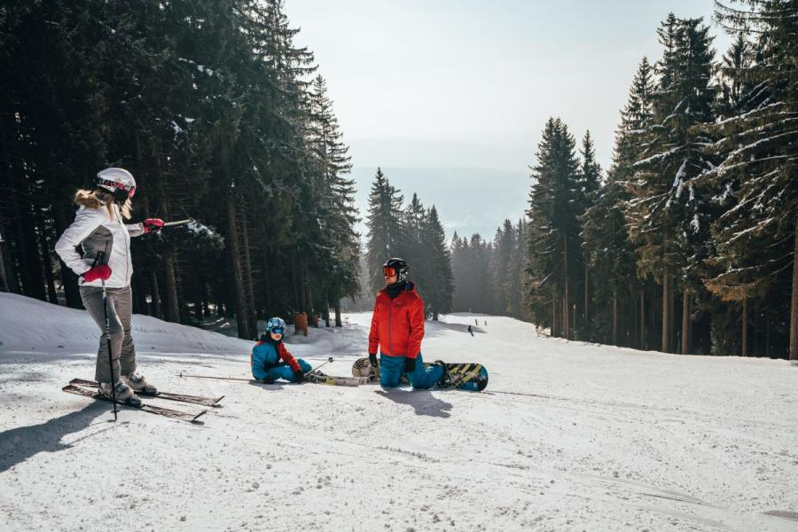 Skiareal am Spicak
