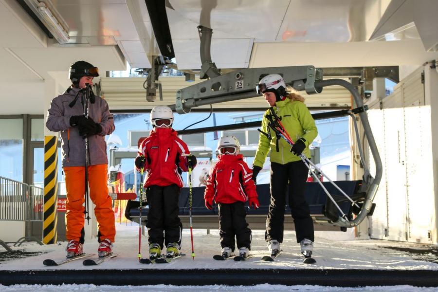 Skifahren am Großen Arber- Sesselbahn
